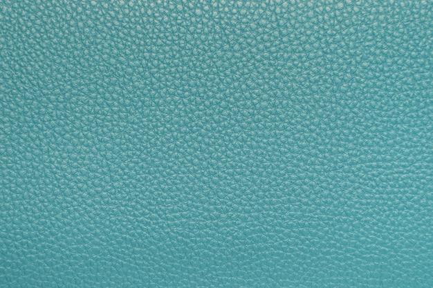 Closeup de textura de couro azul