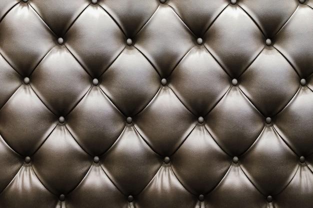 Closeup de textura de couro marrom natural com na sombra