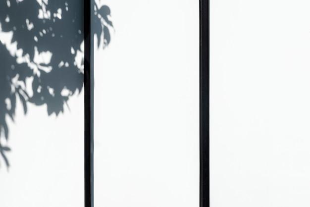 Closeup, de, um, branca, cerca piquete