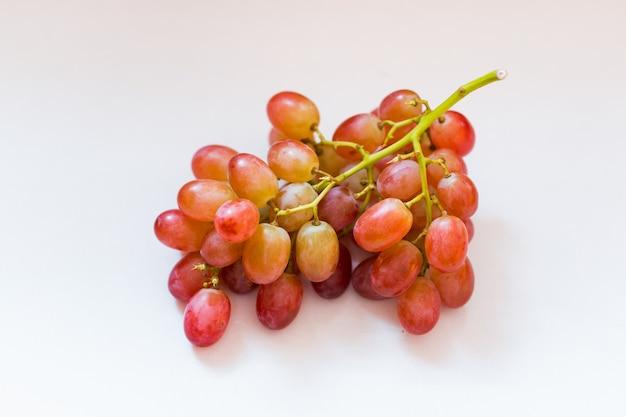 Closeup fruta uva