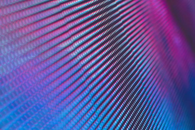 Closeup led tela borrada. fundo de foco suave led. abstrato ideal para o projeto.