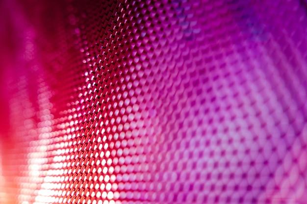 Closeup led tela borrada. fundo de foco suave led. fundo abstrato ideal para o projeto.