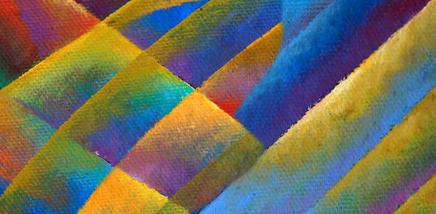 Closeup pintura a óleo abstrata