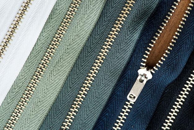 Closeup zipper