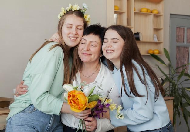 Clube social feminino mãe e filhas