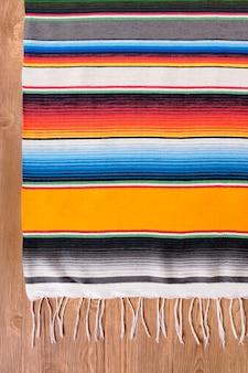 Cobertor de serapé mexicano
