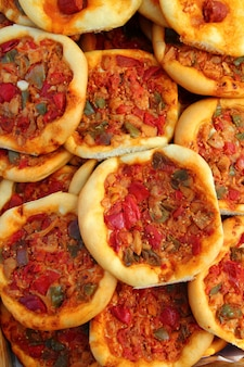 Coca de dacsa pizza mediterrânea da espanha