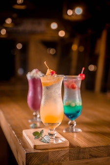 Cocktail de frutas frescas