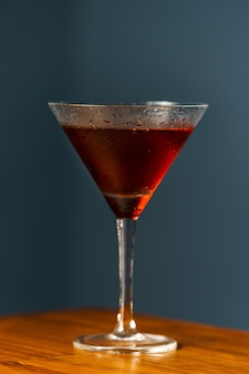 Cocktail de manhattan.