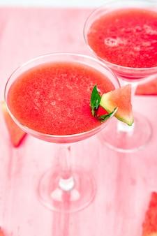Cocktail de melancia margarita