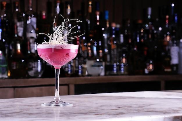 Cocktail de mirtilos