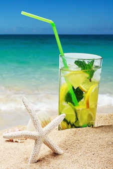 Cocktail de mojito refrescante