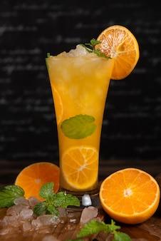 Cocktail de suco de laranja