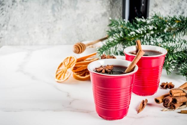Cocktail de vinho quente