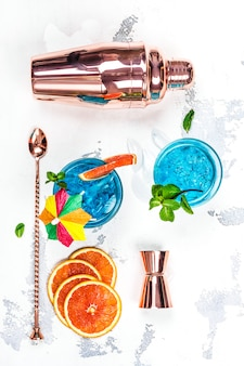 Cocktail lagoa azul
