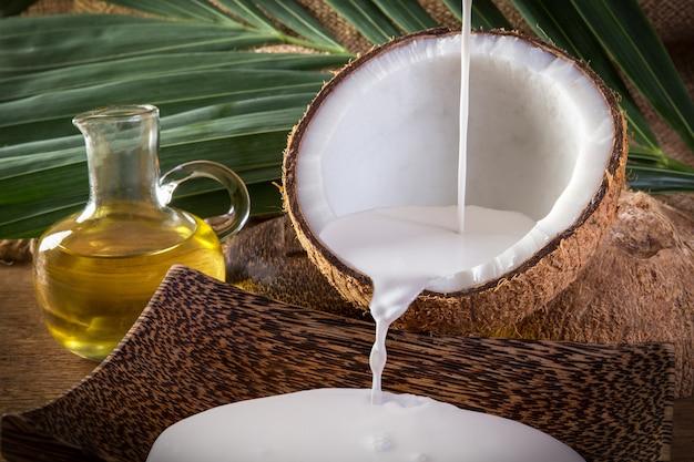 Coco com leite de coco