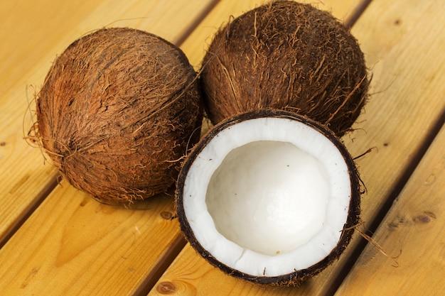 Cocos frescos