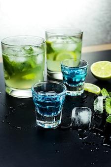 Coctails alcoólicos saborosos