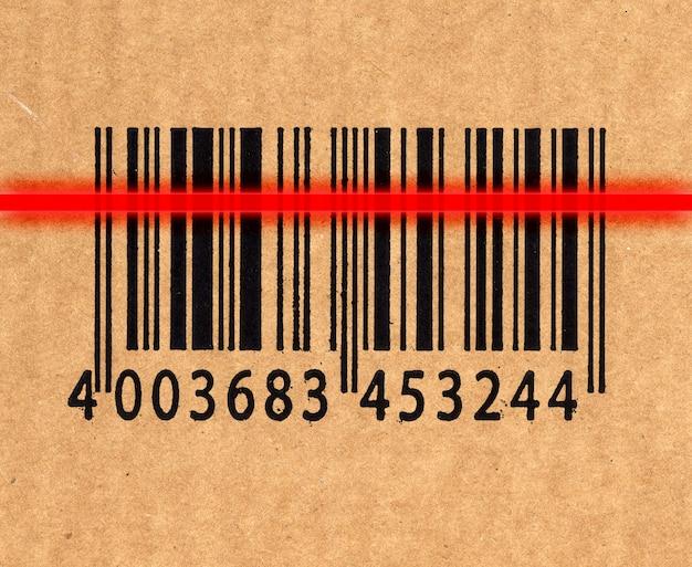 Código de barras e leitor a laser