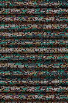 Código javascript no editor de texto.