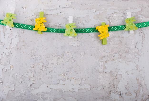 Coelhos de páscoa decoração