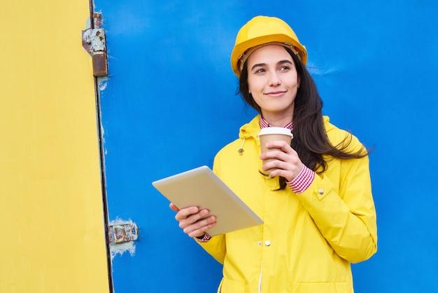 Coffee break do trabalhador da planta