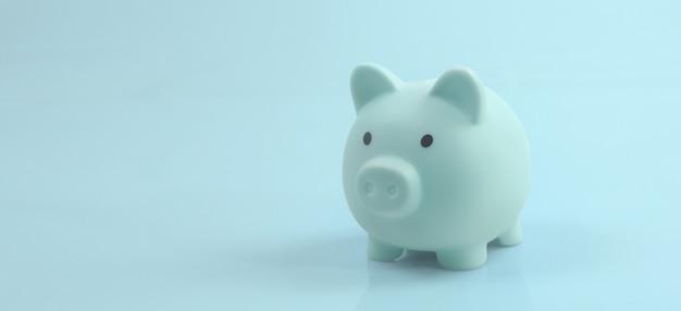 Cofrinho e finanças para economizar dinheiro