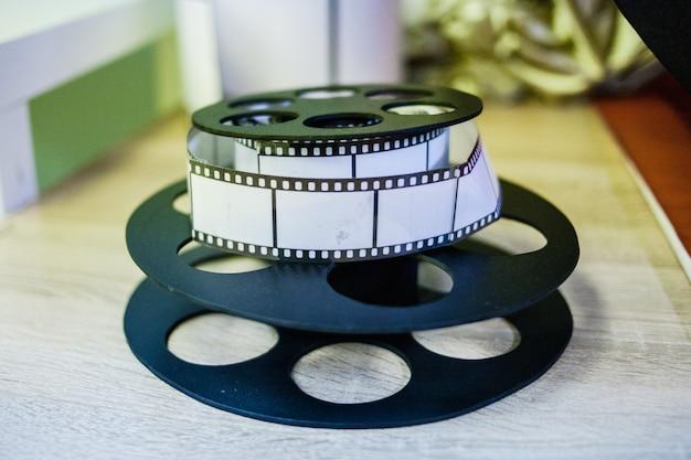 Coisa interior imitando filme para câmera, decoração para interior