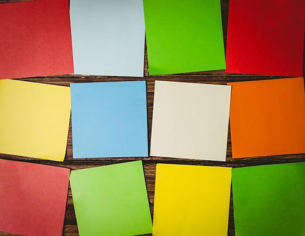 Colagem colorida
