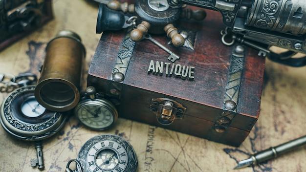 Coleção antique pirate
