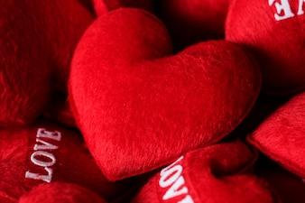 Coleção de corações de amor