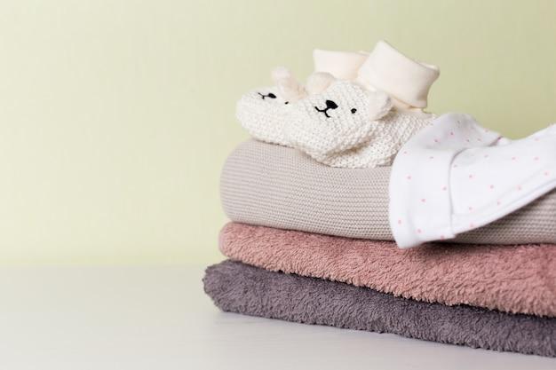 Coleção de itens para bebês