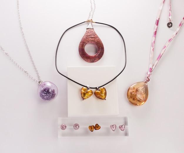Coleção de jóias