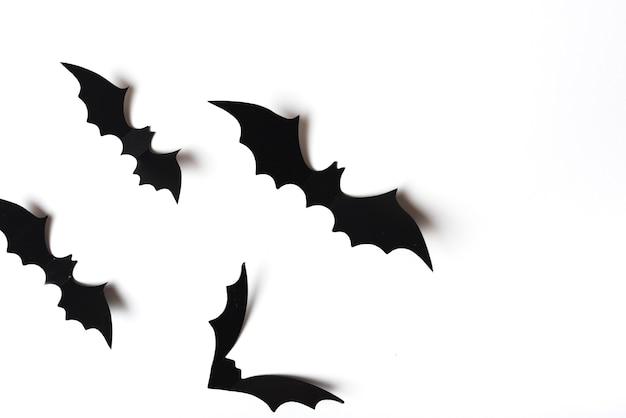 Coleção de morcegos assustadores