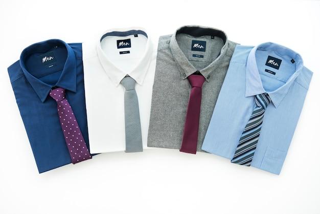 Coleção de roupa formal masculina