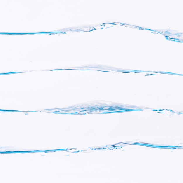 Coleção de salpicos de água