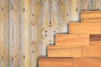 Coleção de texturas de pranchas de madeira