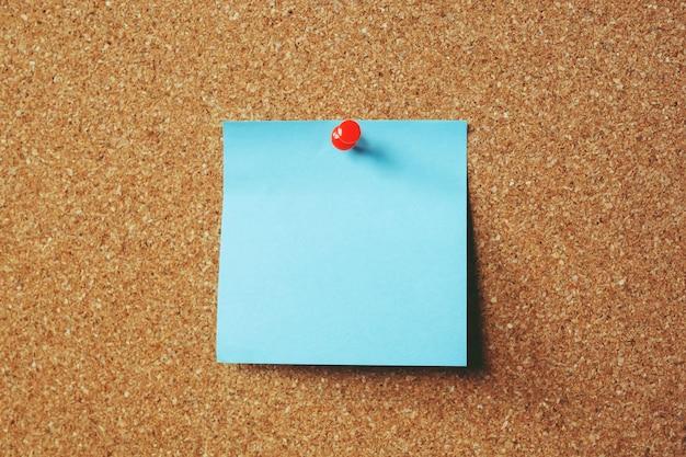Coleção de variedade colorida postá-lo. lembrete de nota de papel notas adesivas alfinetes de papel azul