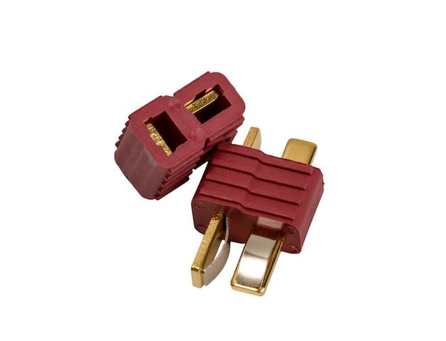 Coleção eletrônica conector poderoso de baixa tensão conector padrão industrial tconector isolado