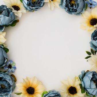 Coleção para o convite sazonal das vendas da decoração floral e do casamento.