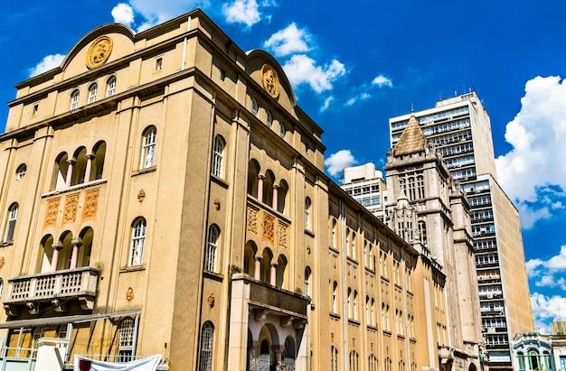 Colégio de são bento, uma escola beneditina em são paulo, brasil