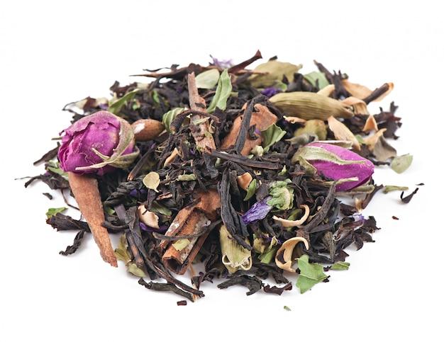 Coleta de chá medicinal