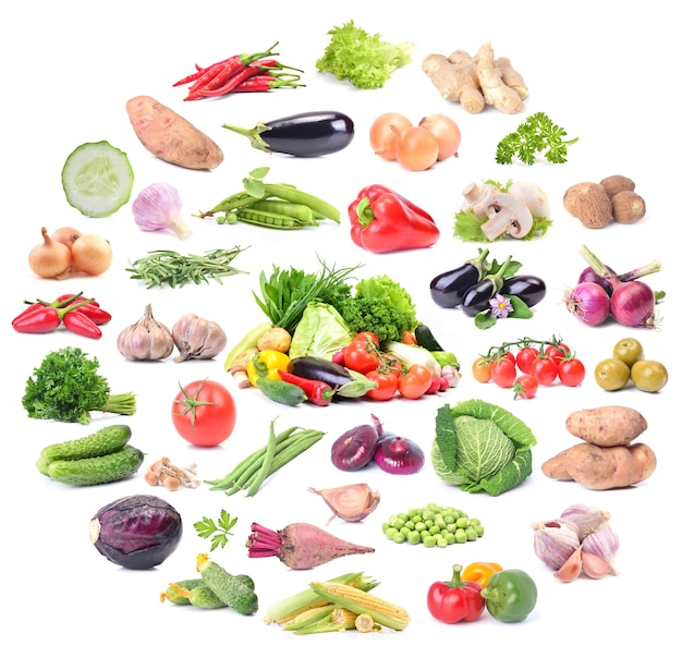 Coleta de vegetais