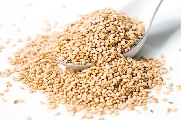 Colher com sementes