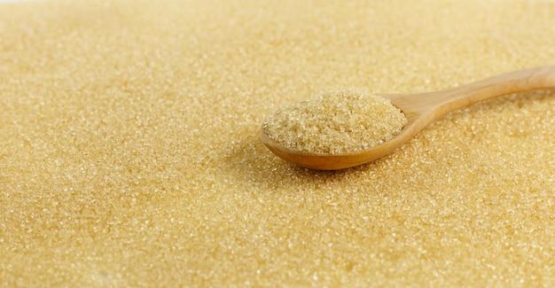 Colher de açúcar mascavo