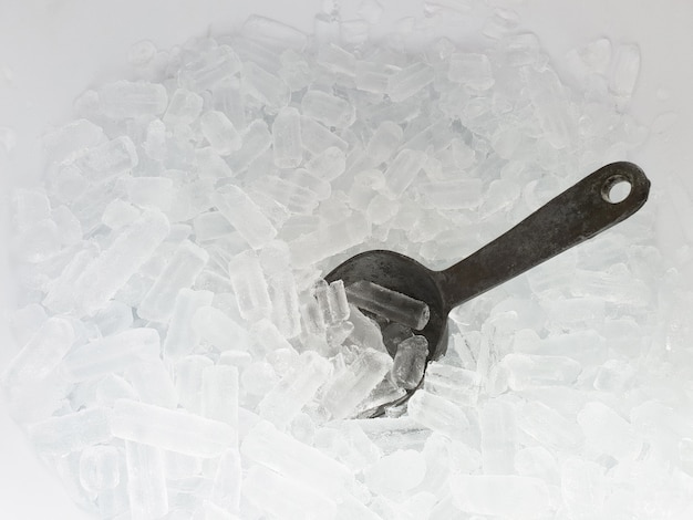 Colher de balde de gelo colher