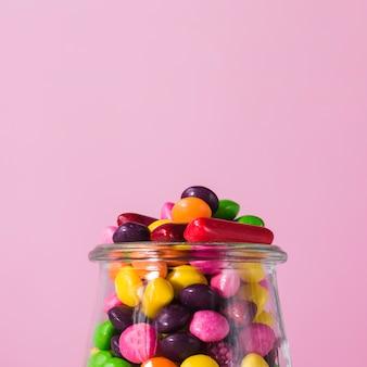Colher pote com doces