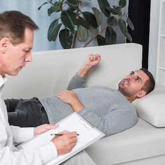 Colocação paciente