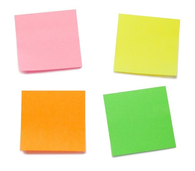 Color post-its