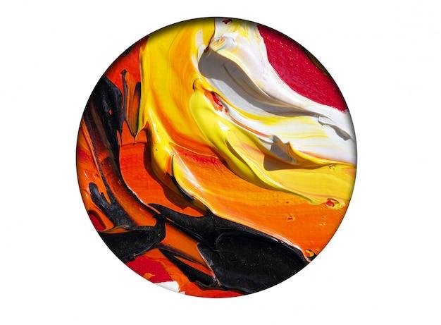 Colorido de fundo abstrato de cor.